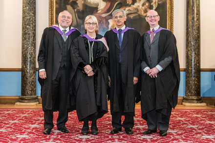 Trinity Honorary Awards presented at London ceremony