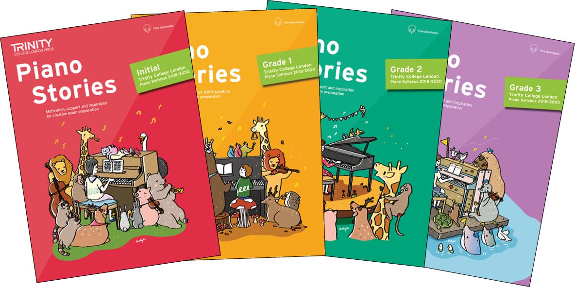 Trinity College London - Piano Stories: new piano tutor books for